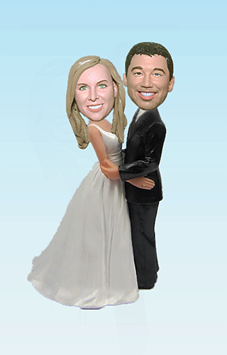 Custom Wedding bobbleheads BW80