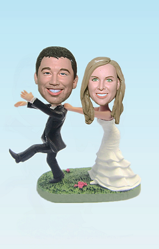 Custom Wedding bobbleheads BW79