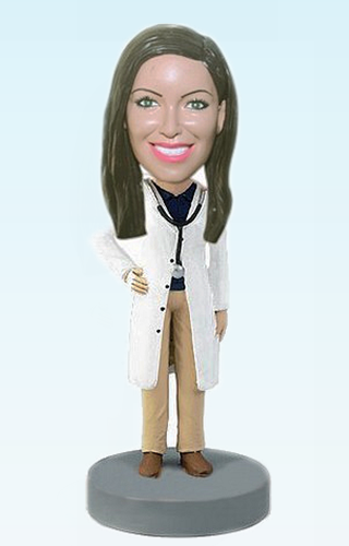 Custom Personalized doctor bobble head