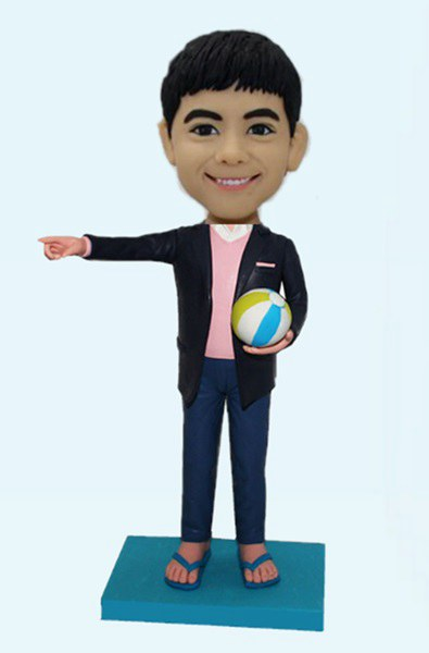 Custom Create Bobblehead Play Volleyball