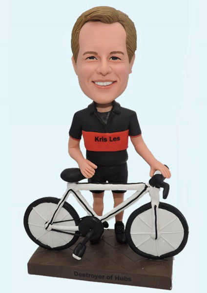Custom Custom Bobbleheads Male Cyclists