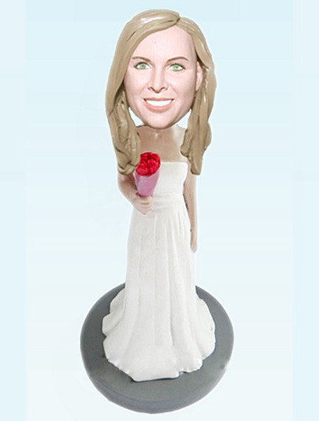 Custom Bridesmaid bobblehead 56
