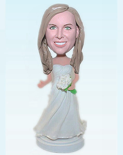 Custom Bridesmaid bobblehead 46