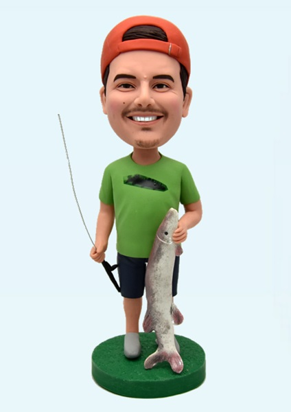 Custom Custom Bobblehead Fishing