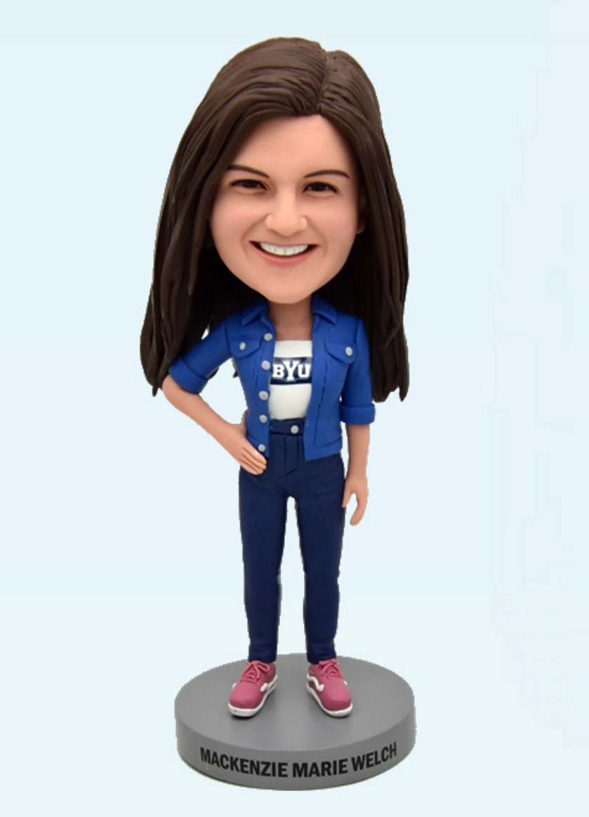 Custom Custom Bobblehead For Fashion Girl
