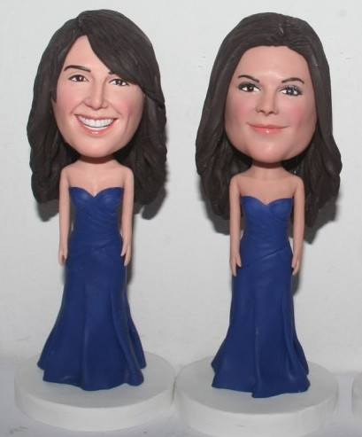 Custom Bridesmaid bobblehead 27