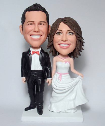Custom Wedding bobblehead BW26