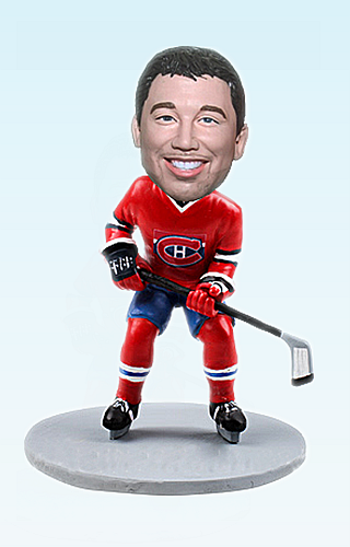 Custom Hockey Guy bobblehead