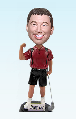 Custom Golf personalized bobblehead Canada