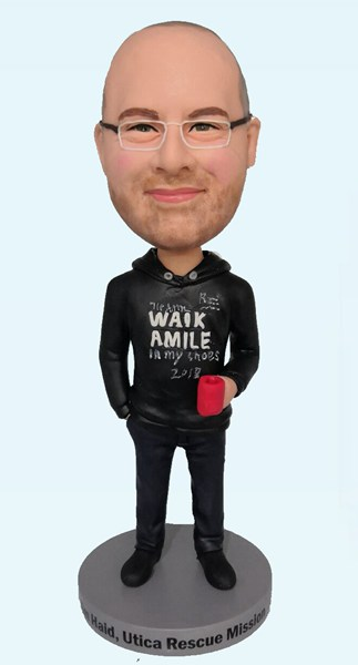 Custom Custom Casual Bobblehead With Cup