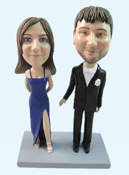 Custom Dressed up Anniversary Bobblehead