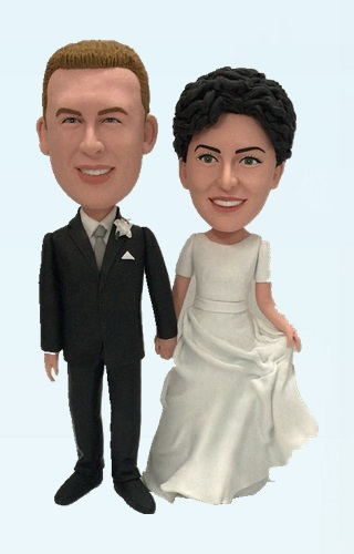 Custom Custom Wedding bobble heads