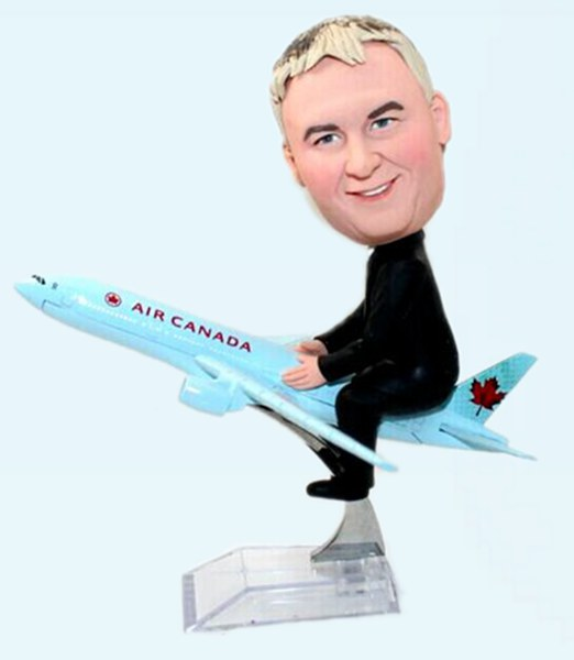 Custom By airplane bobbleheads Canada