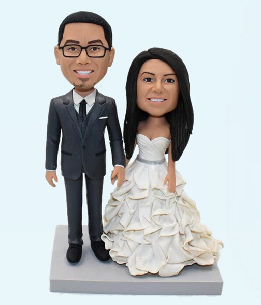 Custom Personalized Wedding Cake Topper